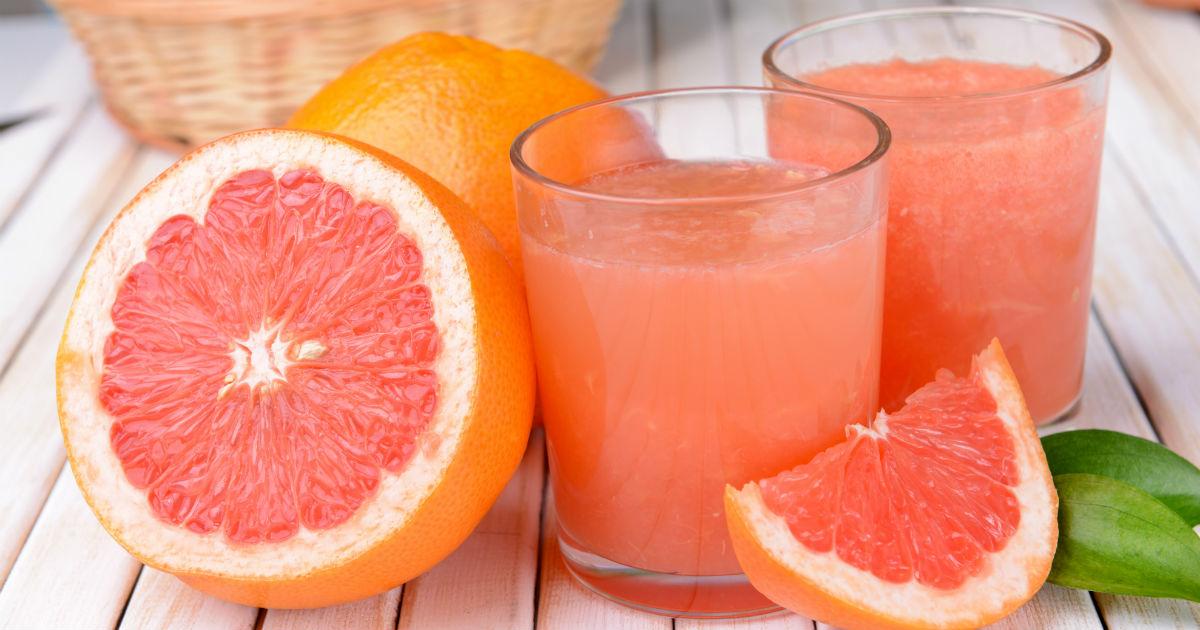 Grapefruits and grapefruit juice