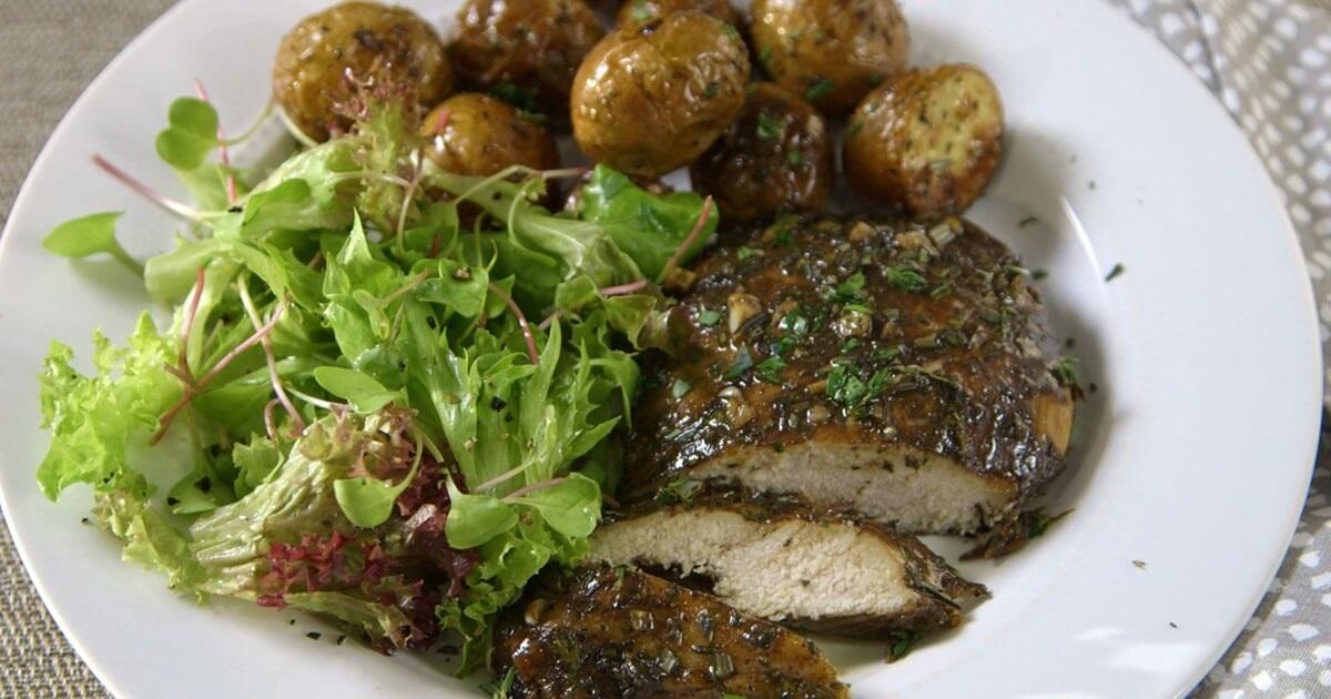 Grilled Chicken Fresh Herbs