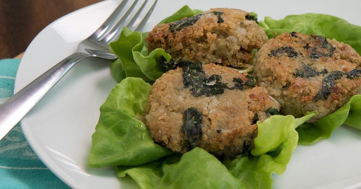 Quinoa Kale Cakes