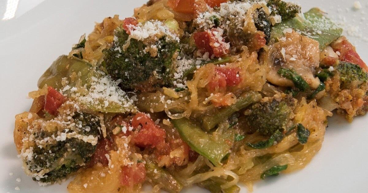 Vegan Spaghetti Squash